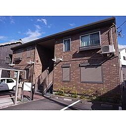 奈良県宇陀市榛原萩原の賃貸アパートの外観