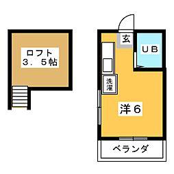 アイハイツ菫[2階]の間取り