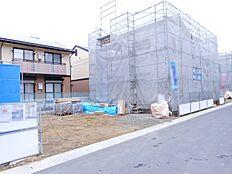 真菅北小学校まで徒歩7分。お子様の通学は安心ですね(2018年1月初旬撮影)