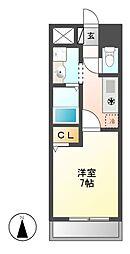 ワピタ名駅[2階]の間取り