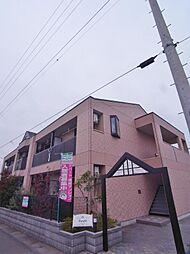 埼玉県鶴ヶ島市中新田の賃貸アパートの外観