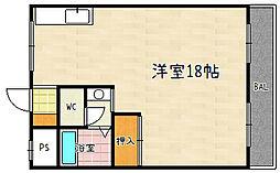 第16洛西ハイツ瀬田[114号室]の間取り