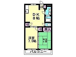 アクアランドマンション[106号室号室]の間取り