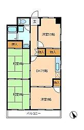 第3ビューストーンハイム[2階]の間取り
