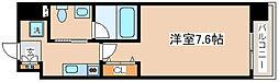 兵庫県神戸市兵庫区本町1の賃貸マンションの間取り