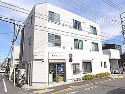 東京都目黒区碑文谷5丁目の賃貸アパートの外観