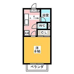 アンクラージェ小松島[1階]の間取り