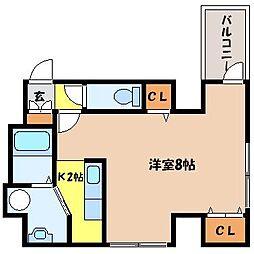 北海道札幌市北区北二十二条西6丁目の賃貸マンションの間取り