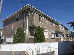 千葉県四街道市小名木の賃貸アパートの外観