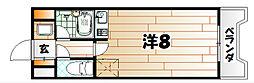 オリエンタル新川[3階]の間取り