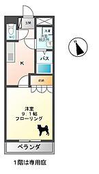 アドバンス・エム[2階]の間取り