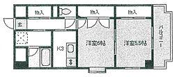 宮城県仙台市泉区泉中央3丁目の賃貸マンションの間取り