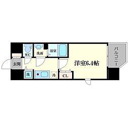 LC京橋[9階]の間取り