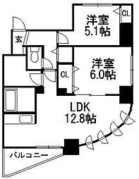 MIRABELL PARK 宮の森[3階]の間取り