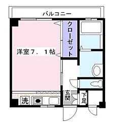 神奈川県横須賀市鷹取2丁目の賃貸マンションの間取り