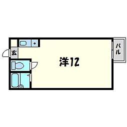 キタノビル[2階]の間取り