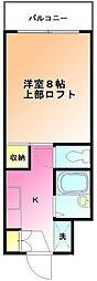 五番館井之花[4階]の間取り