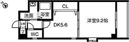 エスポアール春日井[306号室]の間取り