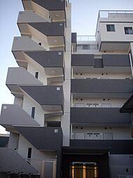 神奈川県川崎市幸区幸町4丁目の賃貸マンションの外観
