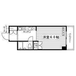 埼玉県さいたま市南区辻2丁目の賃貸マンションの間取り