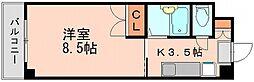 サニーピア板付[3階]の間取り