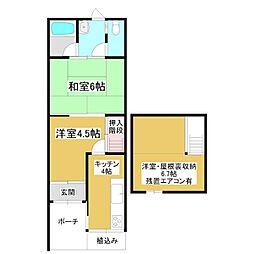 [テラスハウス] 大阪府大阪市城東区東中浜3丁目 の賃貸【/】の間取り