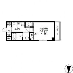 epoch昭和町[211号室号室]の間取り