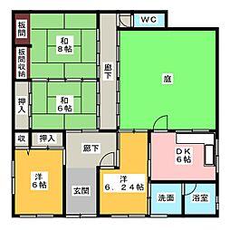 [一戸建] 三重県津市新町2丁目 の賃貸【三重県 / 津市】の間取り