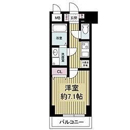 S-RESIDENCE Hommachi Marks[0906号室]の間取り