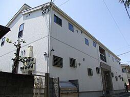 東京都中野区上高田3丁目の賃貸アパートの外観