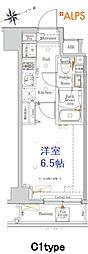 JR京浜東北・根岸線 桜木町駅 徒歩10分の賃貸マンション 1階1Kの間取り