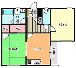 メゾン・ファミーユ[3階]の間取り