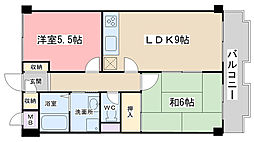 DOLCE NAGITSUJI[507号室]の間取り