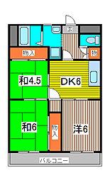 立川ビル[2階]の間取り