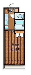 グランメール町田[2階]の間取り