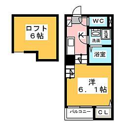 Country villa[2階]の間取り