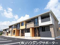 東京都八王子市横川町の賃貸アパートの外観