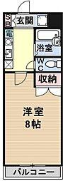 若草フェニックスマンション[301号室号室]の間取り