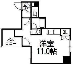 北海道札幌市中央区南一条西18丁目の賃貸マンションの間取り