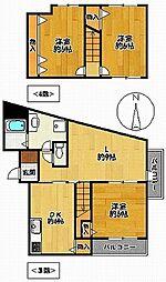 さくらマンション[301号室]の間取り