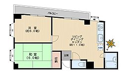 東京都文京区向丘1丁目の賃貸マンションの間取り