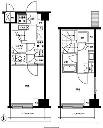 ルーブル多摩川七番館[5階]の間取り