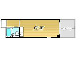 ハイシティ高田馬場[3階]の間取り