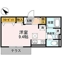 D-AI[1階]の間取り