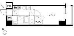 KDXレジデンス豊洲[2階]の間取り