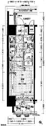 エスプレイス神戸ハーバーウエスト[13階]の間取り