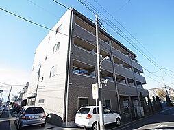 東京都足立区六月1丁目の賃貸マンションの外観