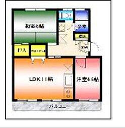 サンスクウェア湘南台[305号室]の間取り