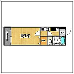 レジデンシャルスイーツ福岡[3階]の間取り