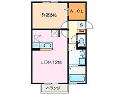 Arc-en-ciel[2階]の間取り